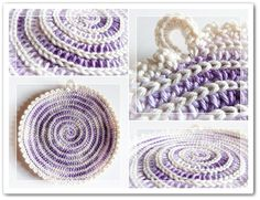 Made in K-town: Crochet Spiral Coaster/Potholder Pattern