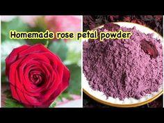 Homemade rose petal powder 100% natural || DIY rose petal powder - YouTube Rose Petals Craft, Dried Rose Petals, Diy Beauty Soap, Rose Oil For Skin, Natural Blush, Natural Beauty, Ayurvedic Skin Care, How To Make Rose, Rose Soap