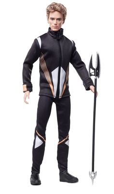 "Finnick. | The ""Hunger Games: Catching Fire"" Barbie Dolls Have Arrived And They're Everything A Fan Needs"