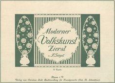 All sizes | Moderner Volkskunst Zierat title page | Flickr - Photo Sharing!