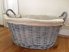 Americana Decor Chalk Paint basket in Yesteryear , Everlasting, and Primitive
