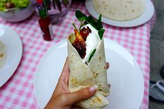 Starlit spicy lemon chicken wraps - The Londoner