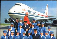 Airlines Past & Present: Boeing 707
