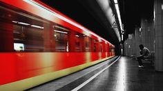 train station Wallpaper HD Wallpaper
