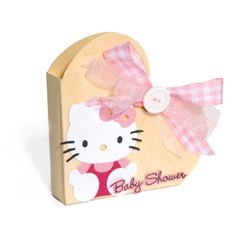Cute Hello Kitty Baby Shower Favor Box