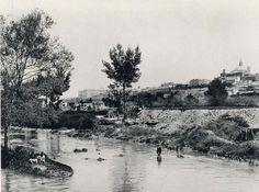 Madrid visto desde San Isidro, 1891. Hauser y Menet. Biblioteca Nacional (Madrid).
