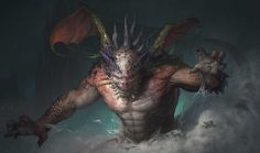 Dragonize, Andrea Tentori Montalto on ArtStation at https://www.artstation.com/artwork/r4WPa