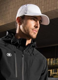 "OGIO® ENDURANCE APEX CAP. #OE650 -  Materials: 96/4 Polyester/Spandex Twill Weave 6-panel with added ""tech seams"". Reflective ""OGIO"" print on left side panel. O-Endurance inside taping. Reflective ""O"" logo on back. Structured, Mid profile.  For details on how to order this item branded with your logo embroidered, contact ww.Fivetwentyfour.ca  #embroideredhats  #promohats  #OGIOHATS"
