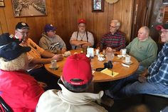 The members of the Utica Coffee Club are Democrats, Republicans, and independents. But they like each other. And that makes all the difference.