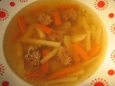 Alföldi receptek: Májgombóc leves