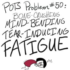 """""""POTS Problems"""" created by Vanessa Matelski, also known as POTS and Spoons, is a comic series detailing life with postural orthostatic tachycardia syndrome. Chronic Illness Humor, Chronic Pain, Fibromyalgia, Pots Syndrome Treatment, Mast Cell Activation Syndrome, Medical Memes, Ehlers Danlos Syndrome, Invisible Illness, Stick Figures"""