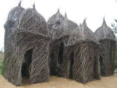 """""""Diamonds in the Rough""""- Stick sculpture by Patrick Dougherty"""