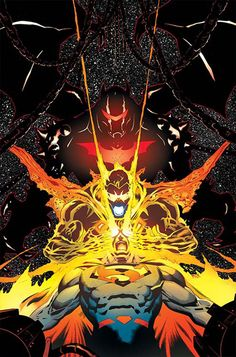Eradicator vs Superman & Hellbat