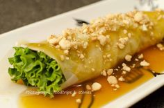Fresh Lumpia- Lumpiang sariwa or Filipino springrolls are sautee'd vegetables and pork and/or shrimp and tofu wrapped in crepe like wrappers made with eggs and flour. Anyone who knows how to …