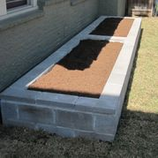 Raised vegetable bed @ project Backyard Farm with Chickens Ravenscourt Landscaping and Design LLC