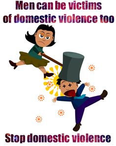 Do you count female on male abuse as domestic violence or just assault?