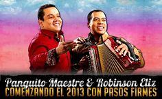 @PanguitoMaester y @RobinJosEliz - Comenzando el 2013 con pasos firmes - http://wp.me/p2sUeV-3zr  - Noticias #Vallenato !