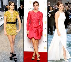 Happy 24th birthday, Emma Watson! Look back at her style evolution...