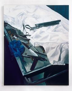 Damien Hirst  Dissection Table with Tools, 2002 - 2003