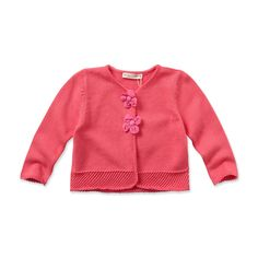Knitted Baby Cardigan for girl | Dave Bella Kids Clothes www.davebella.co.uk