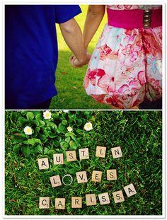 real couple} Carissa + Austin's Belmont Park Engagement | Artfully ...