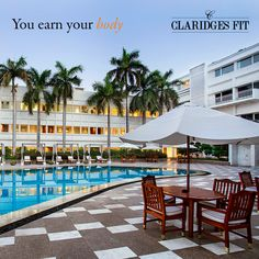 At The Claridges, getting fit is not all work and no play!   Get the Claridges FIT membership to get access to the spa along with the all weather pool and gymnasium!  Call +91 11 3955 5000 for more details!