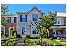 6033 Kestner Circle, Alexandria, VA-Walk to the town center from 3 bed 3.5 bath townhouse. Features updated eat in kitchen with granite, lg living room with door to deck, Fenced yard, crown molding, wood floors and newer HVAC & hot WH. Rec room has gas fireplace and door to yard. Spacious master suite with ceramic tiled bath, vaulted ceilings and 2 closets. Community has pool, tennis, tot lots & more. Close to metro, Belvoir & Hwys