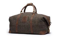 Cavalier II No. 97  Chevron Wool Duffel Bag