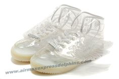 Adidas X Jeremy Scott Wings Clear Shoes White Online