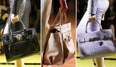 Spring/ Summer 2014 Handbag Trends: The Kelly Bags  #handbags #bags #trends