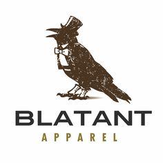 Blatant Apparel logo design by kulURA