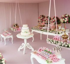Dessert Tablescape | Dentro Da Festa Blogspot #dentrodafesta