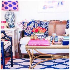 How to Revamp Your Living Room in Just a Few Minutes: Colorful Living Room