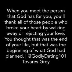 What if the person who you know God has for you is dating someone else?