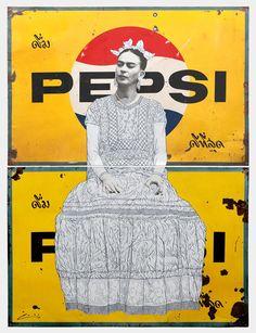 Frida on Double Pepsi | Pakpoom Silaphan