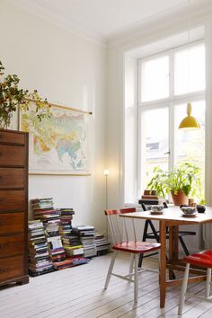 A relaxed and eclectic Stockholm space
