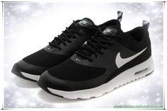 chuteiras profissionais baratas Preto / Branco 599408-231 Nike Air Max Thea Print Masculino