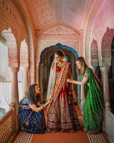 A picture perfect moment 🧡 And the dome had had all of us in awe. Indian Wedding Photography, Couple Photography, Bridesmaid Poses, Bridesmaids, Wedding Styles, Wedding Photos, Indian Wedding Fashion, Red Lehenga, Wedding Sutra