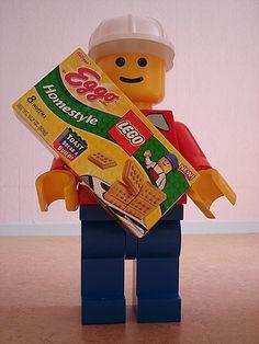 Lego Breakfast Minifigure