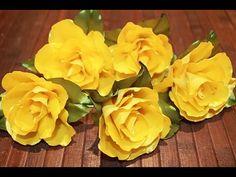 Kanzashi Flower Tutorial - Kanzashi Rose - Kanzshi Tutorial