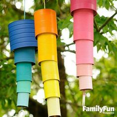 Hear the sounds of summer with our Cool Can Chimes (slide 5). http://www.parents.com/fun/activities/outdoor/spring-crafts-and-games