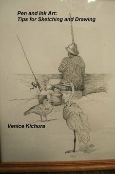 Pen and Ink Art: Tips for Sketching and Drawing by Venice Kichura. $2.05