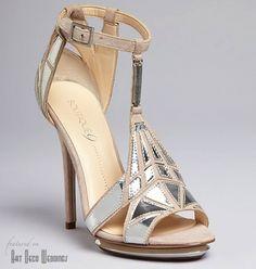 art deco shoes | Art Deco Shoes || T-Straps + Mary Janes