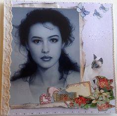 heel mooi getekende vrouw
