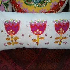 Almohadones pintados a mano - Aldea Bed Pillows, Pillow Cases, Pillow Beds, Toss Pillows, Argentina, Pillows