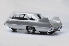 PFX concept car by Pininfarina. Pininfarina's aerodynamic 1960 X