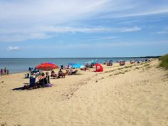 Doing what people do at Crosby Beach, Brewster, Cape Cod