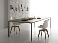 michel cazzaniga, mdf italia, dine tabl, mdf keramik, mdfitalia, mesa steel, de mdf, steel tabl, dining tables