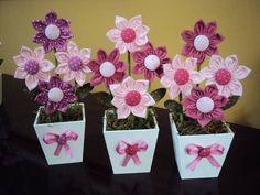 Como fazer flores de fuxico 13 (Custom)                                                                                                                                                                                 Mais