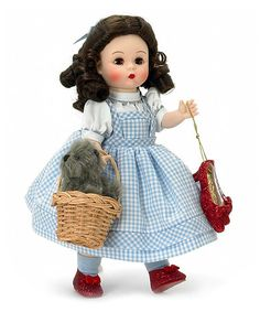 Take a look at this Dorothy Doll by Madame Alexander on #zulily today! $47  Halloween costume idea?